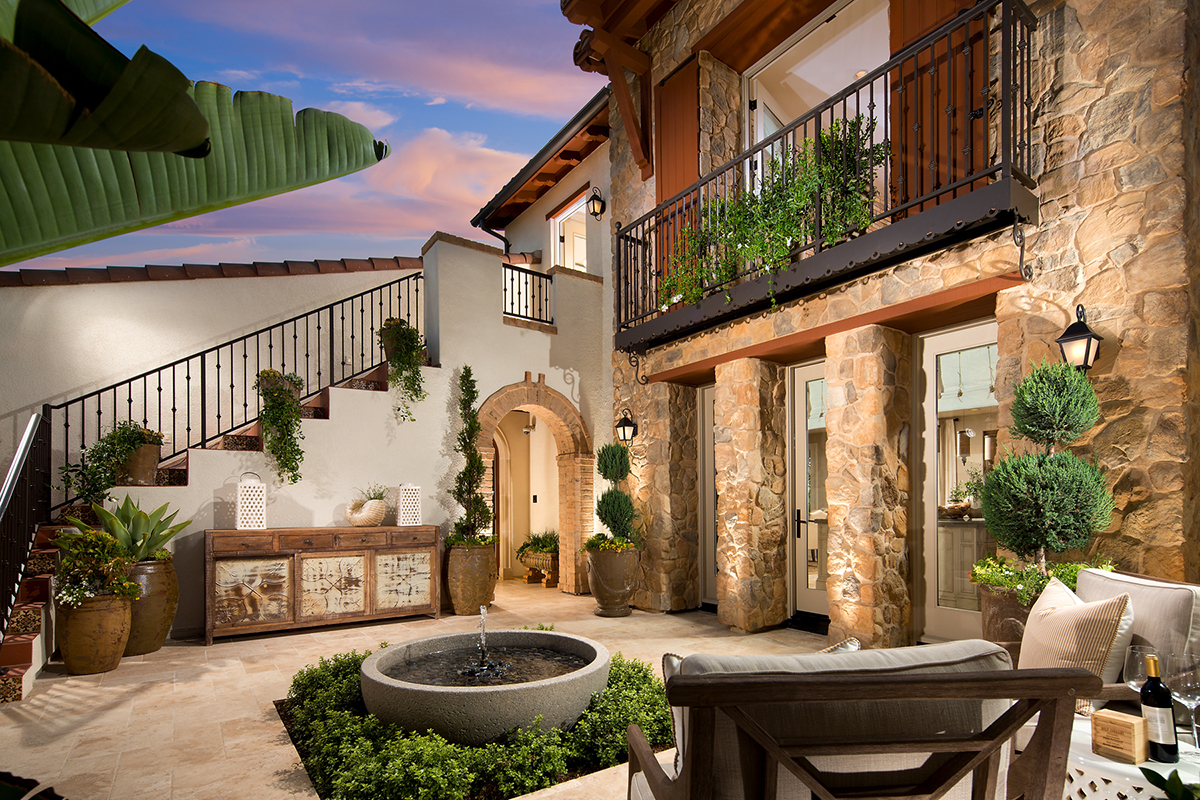 Francois Illas New Tradition: La Vita At Orchard Hills Homes Offers Italian-Influenced