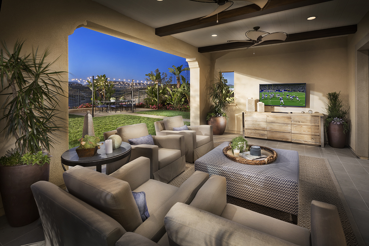 San Diego new homes of Descanso at Del Sur