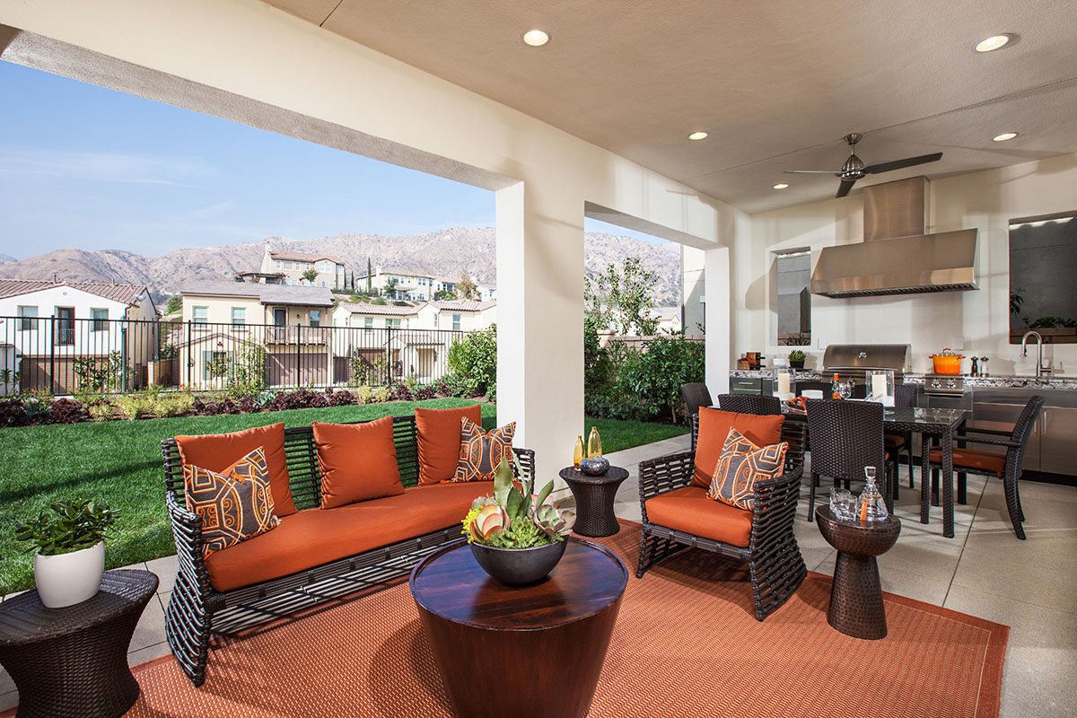 Azusa New Homes Camellia at Rosedale - Patio