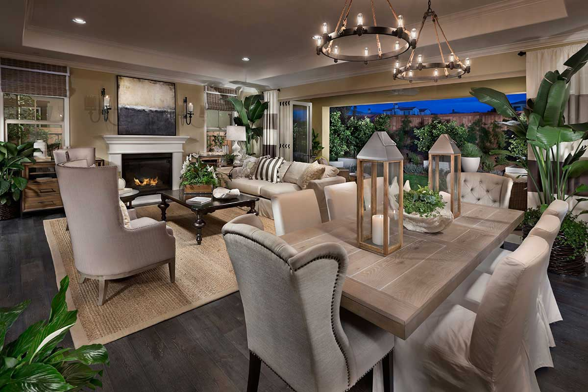 Carlsbad New Homes at Palo Verde - Great Room