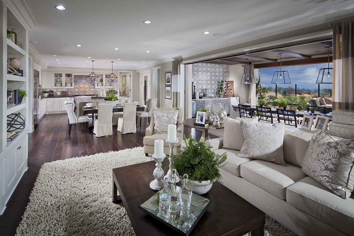 Homes of La Vita at Orchard Hills - Great Room
