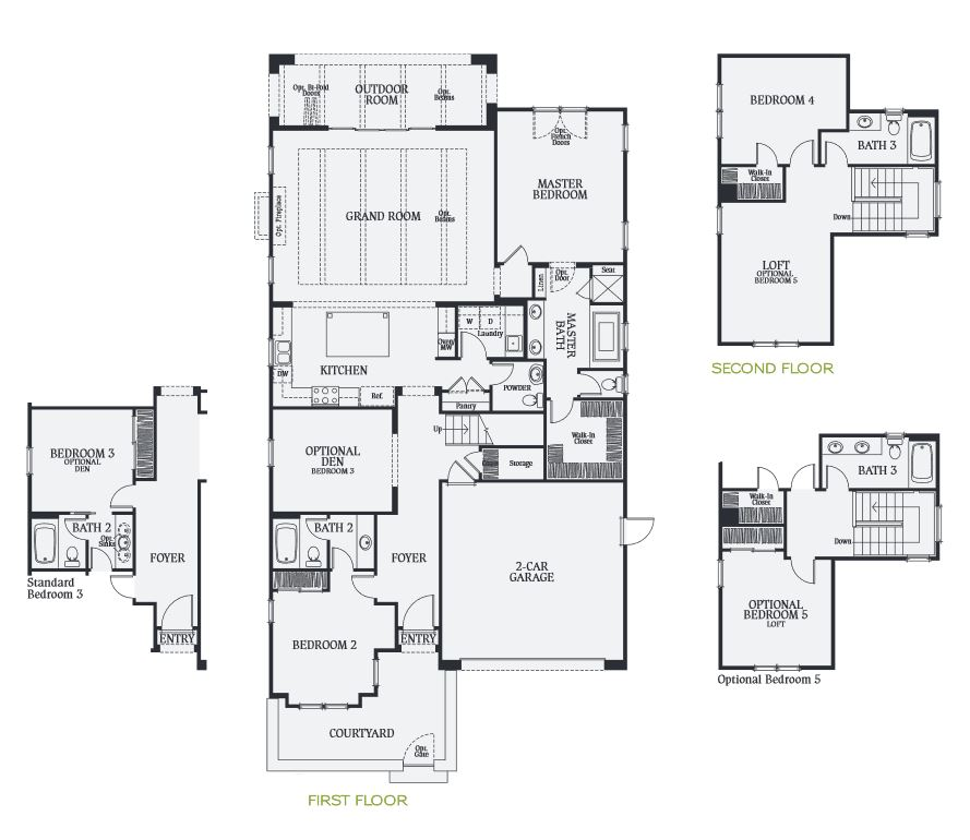 Palo Verde at The Foothills Floorplans