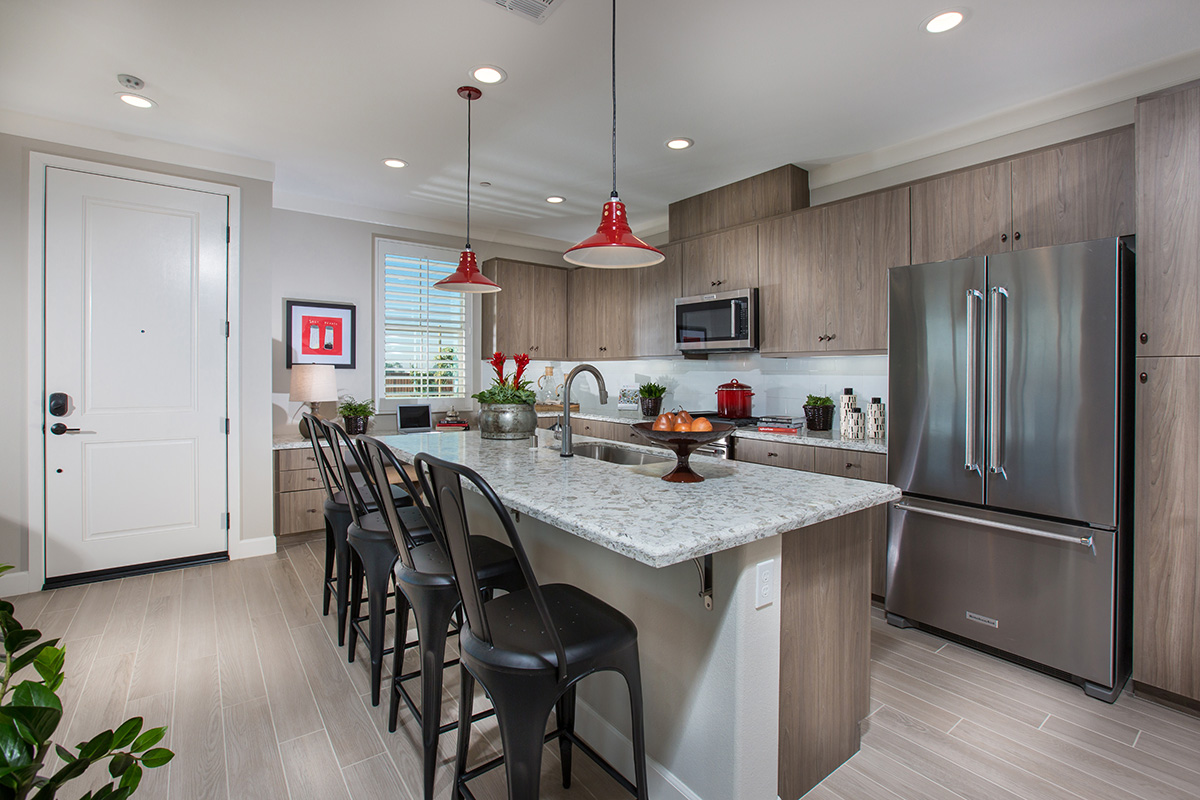 Ontario Ranch New Townhomes New Townhomes for Sale - Kitchen