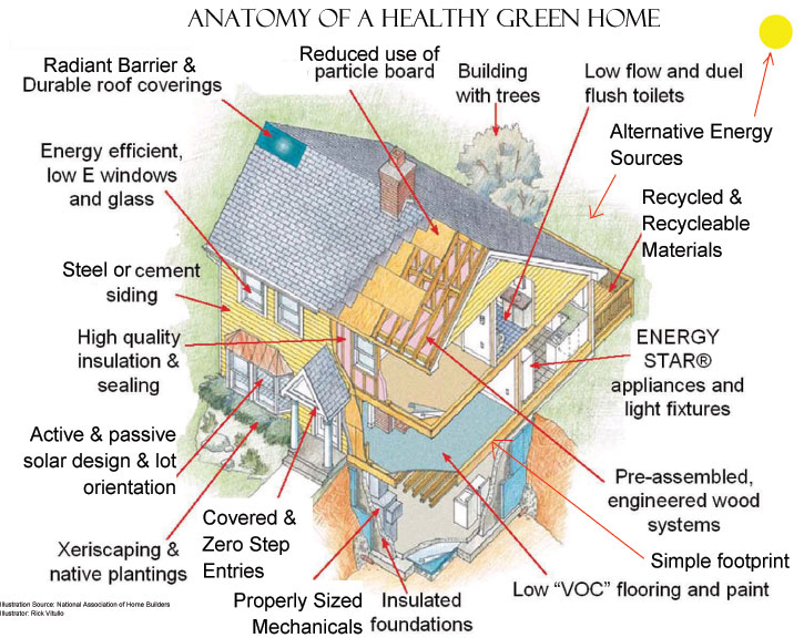 green homes for sale and green home builders by new homes