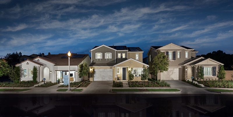 San Bernardino County New Community of Homes - Shutters at Edenglen