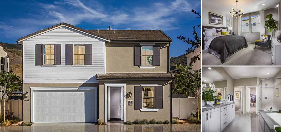 San Diego County New Homes for Sale at Terracina at Rancho Tesoro