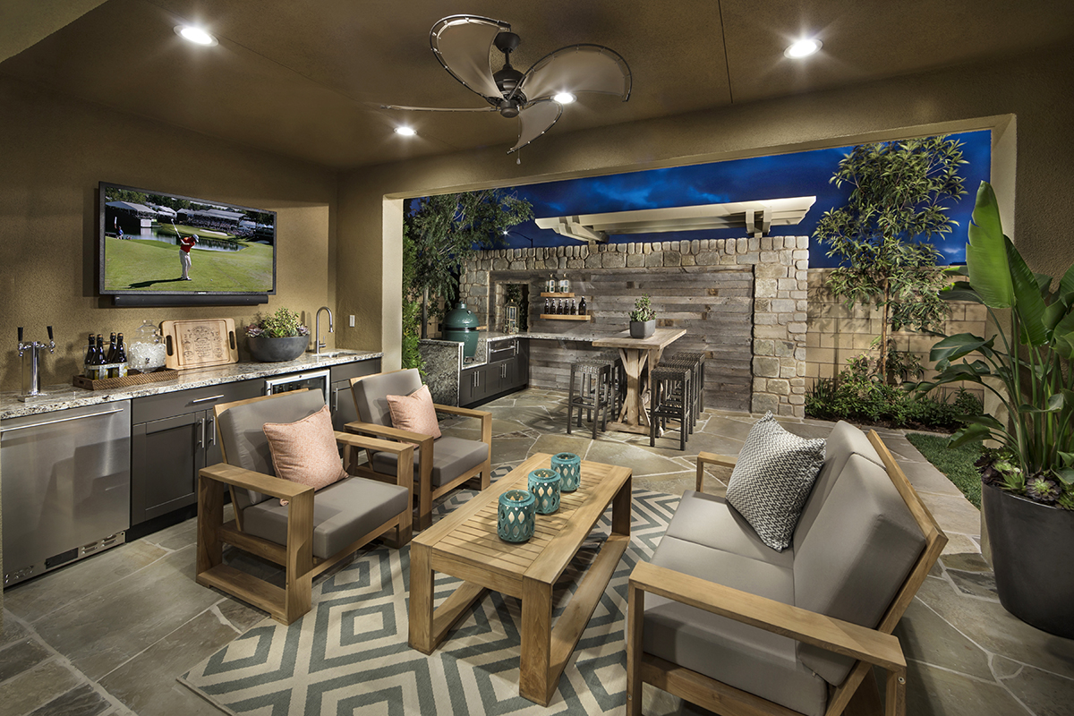 Huntley at greenwood the good life for Modern homes for sale in orange county