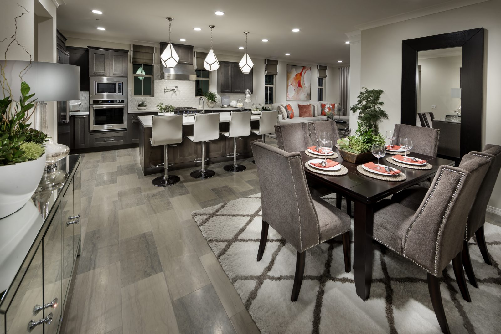 New Homes for Sale in Irvine CA - Great Room