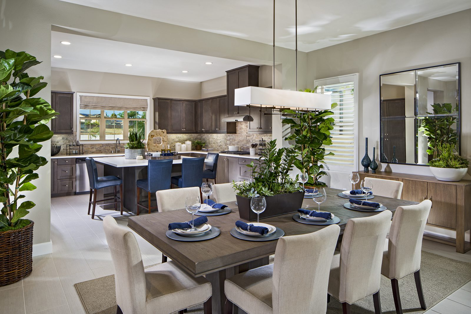 Candela New Home in San Marcos - Kitchen and Dining Room