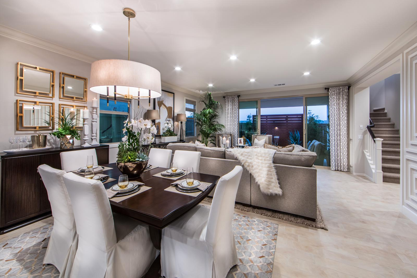 Dining Room in San Diego New Homes for Sale