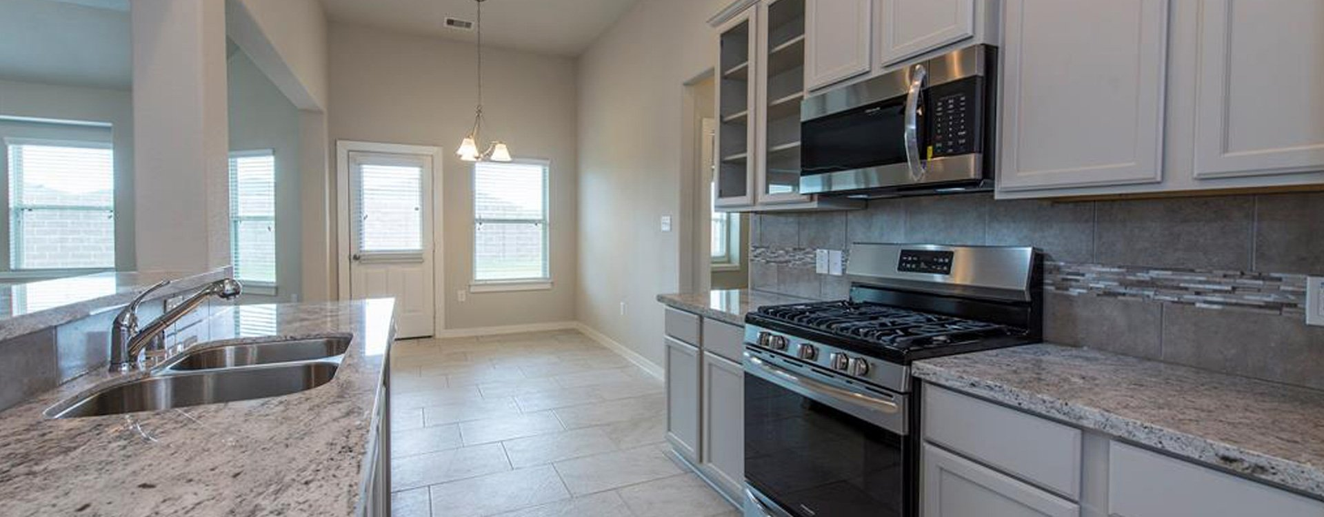 kitchen in new Texas City home for sale