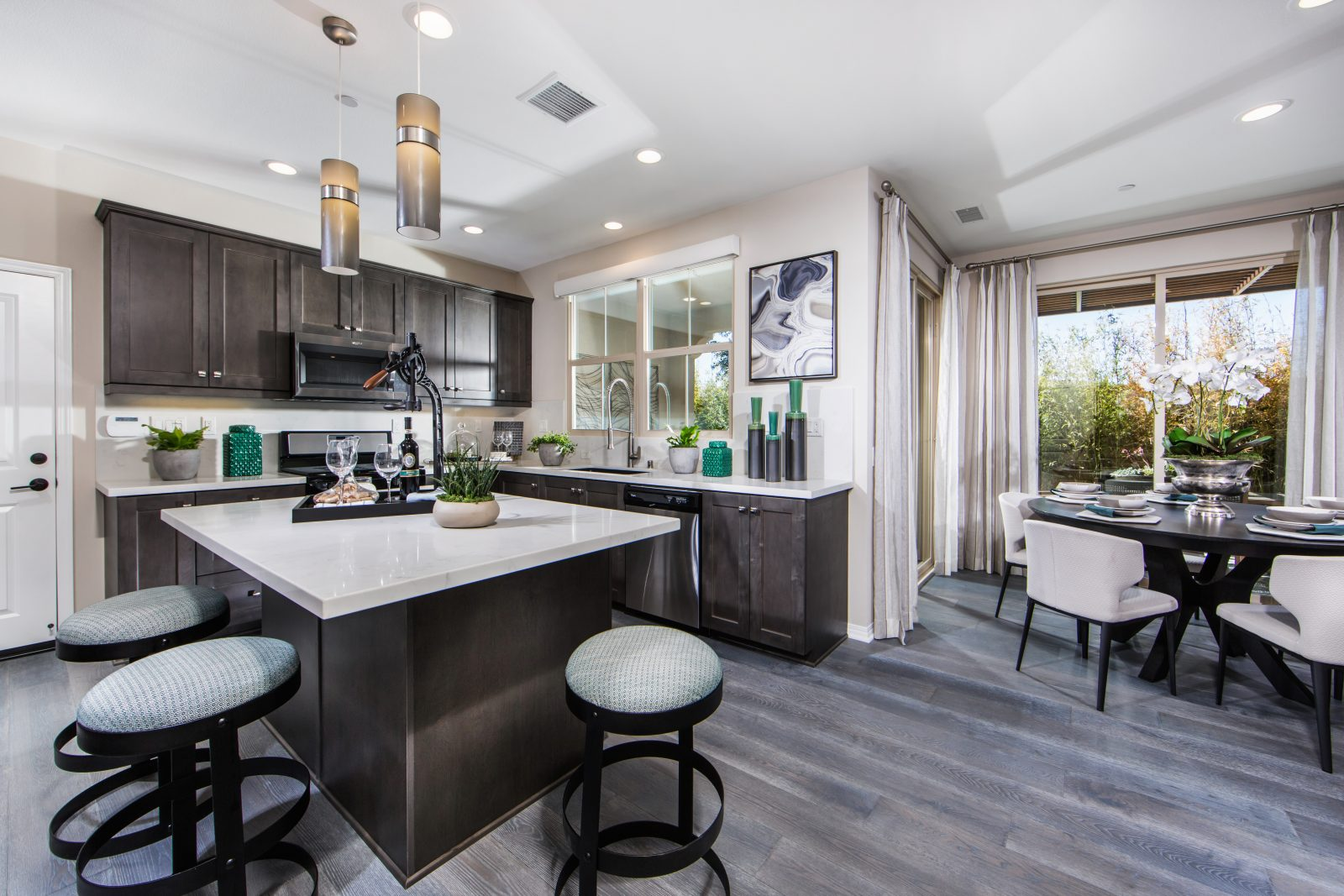 New townhomes for sale in Irvine Kitchen
