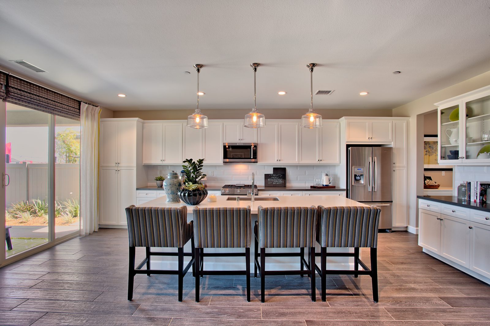 Kitchen in New Home in Riverside County at Juniper at Spencer's Crossing