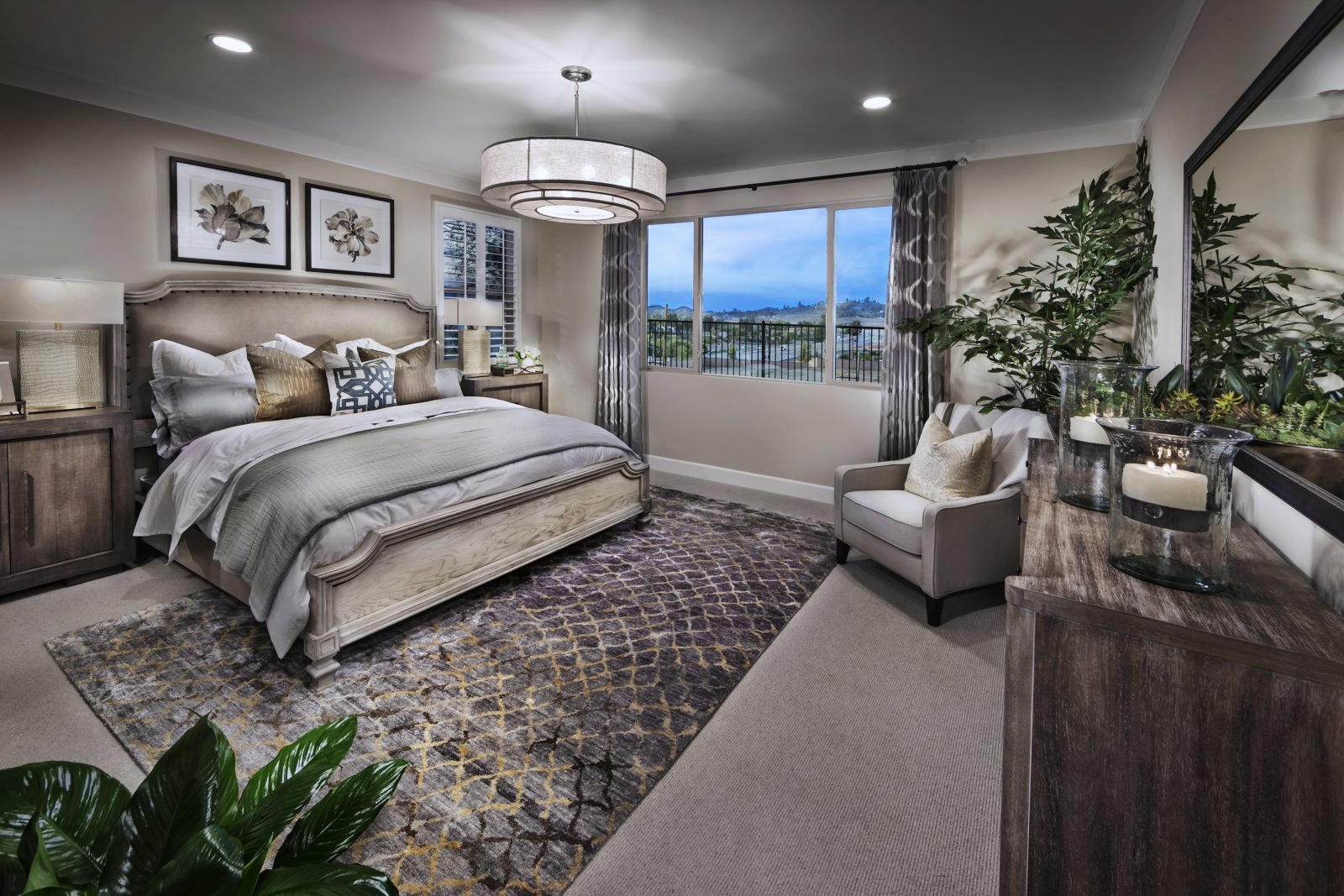 New home for sale in Menifee Province at Audie Murphy Ranch master bedroom