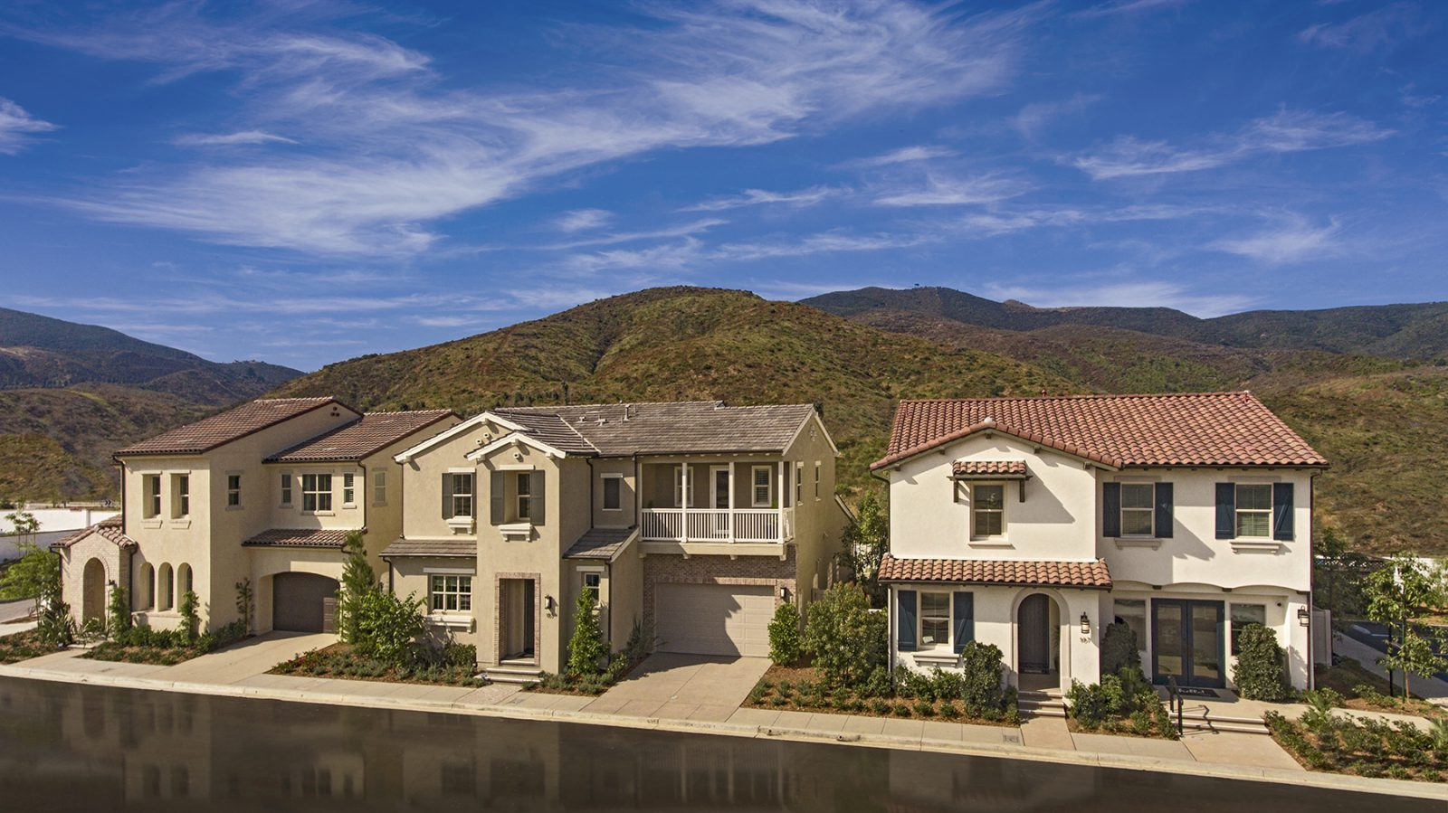 Community of New Homes for sale in San Marcos at Rancho Tesero