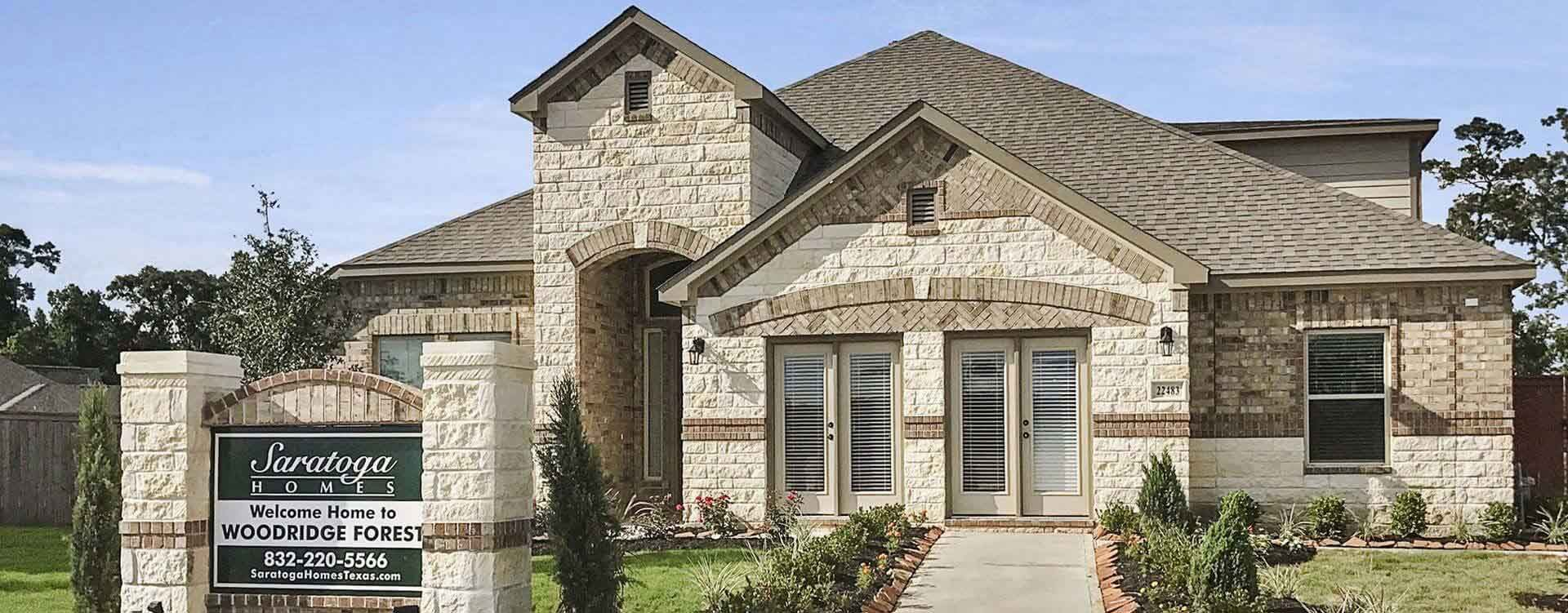 Humble Texas development Woodridge Forest