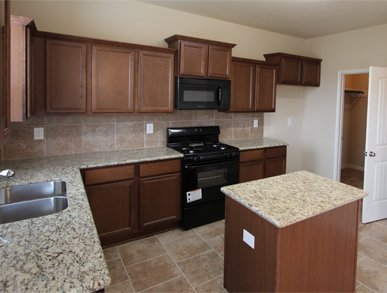 Cypress Oaks new kitchen in Katy Texas