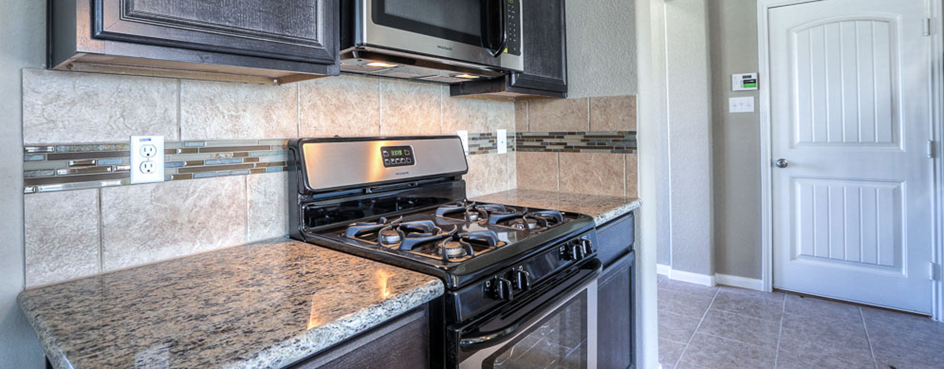 New kitchen in Manvel Texas at Rodeo Palms Community