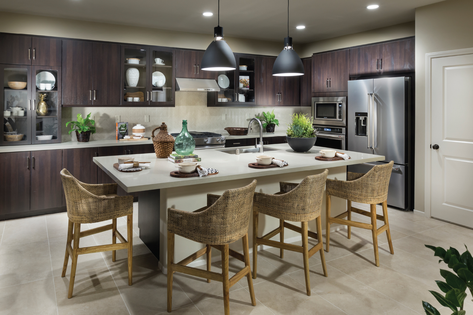 Chef Kitchen in San Bernardino New Homes for Sale