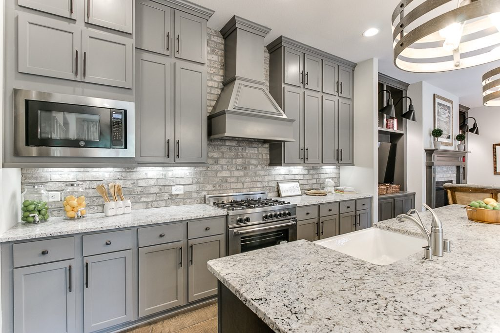 Gourmet Kitchen in Houston Area New Homes for Sale