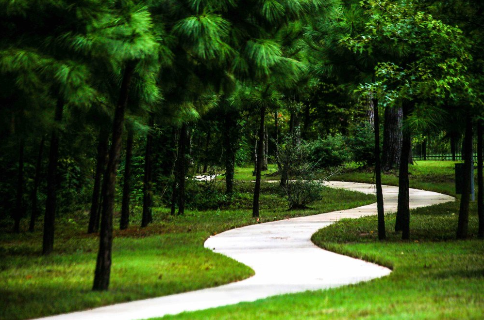 Walking Trails in Houston Master Planned Community for Sale