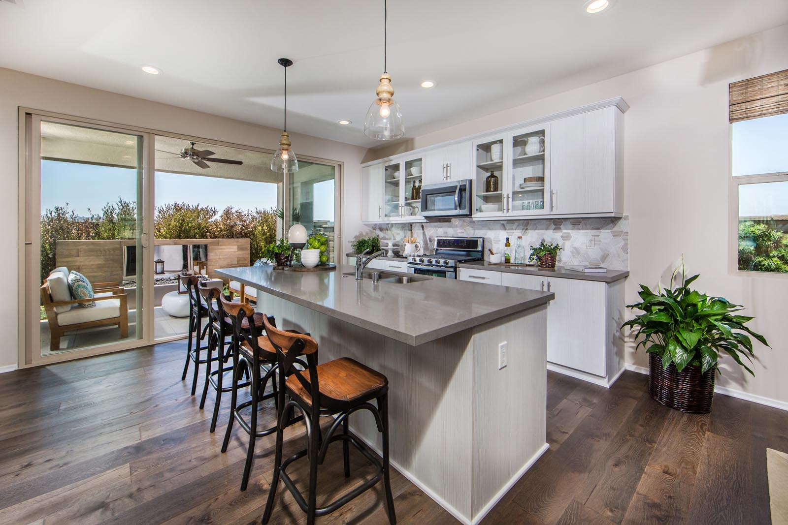Modern Kitchen in San Diego New Homes for Sale