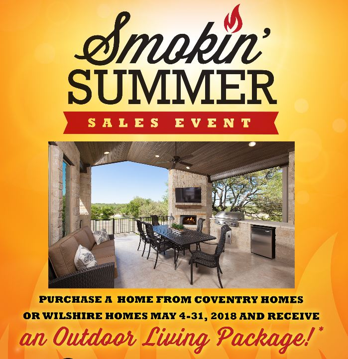 Carneros Ranch Smokin' Summer Home Sales Event