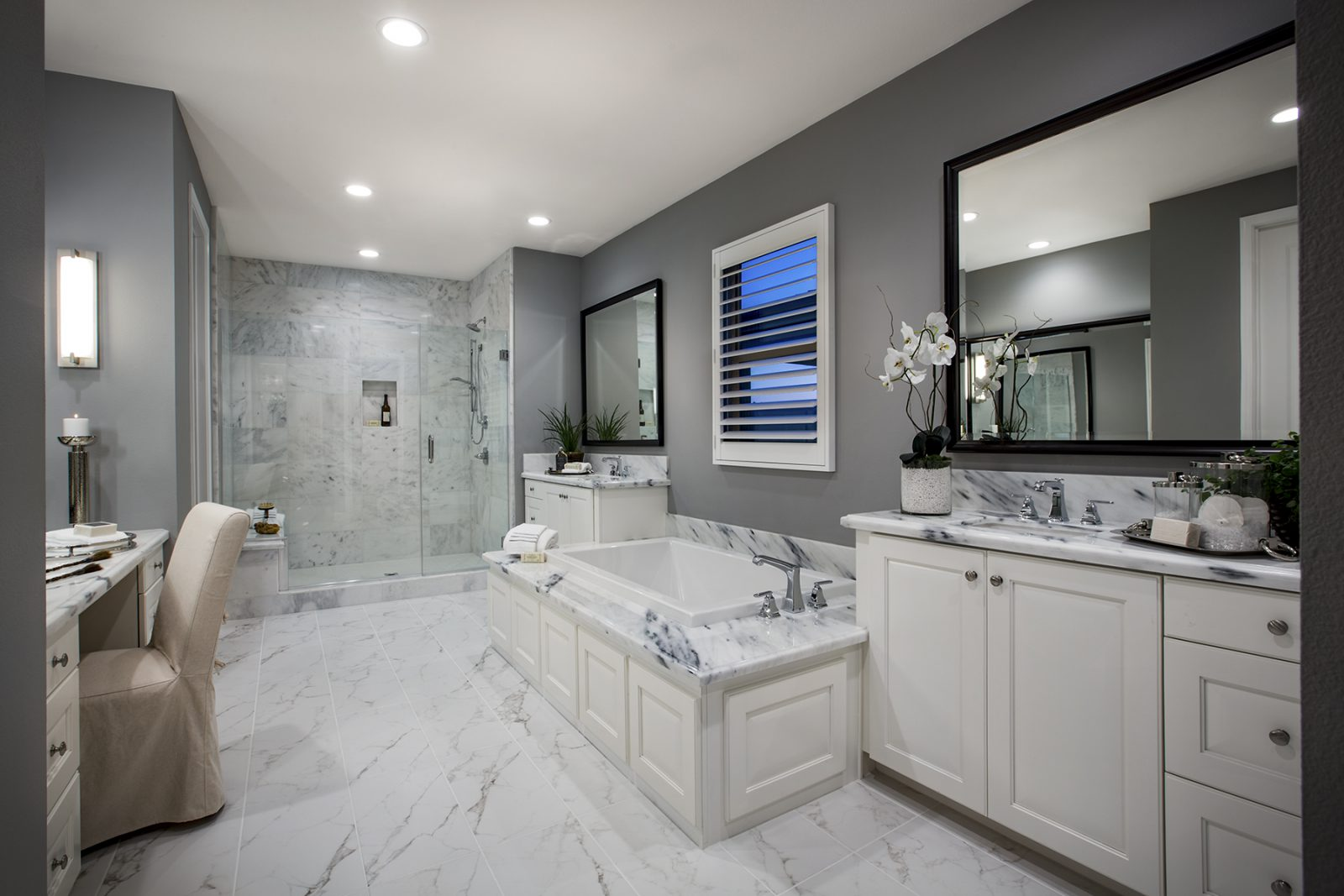 Master Bath in San Diego New Homes for Sale