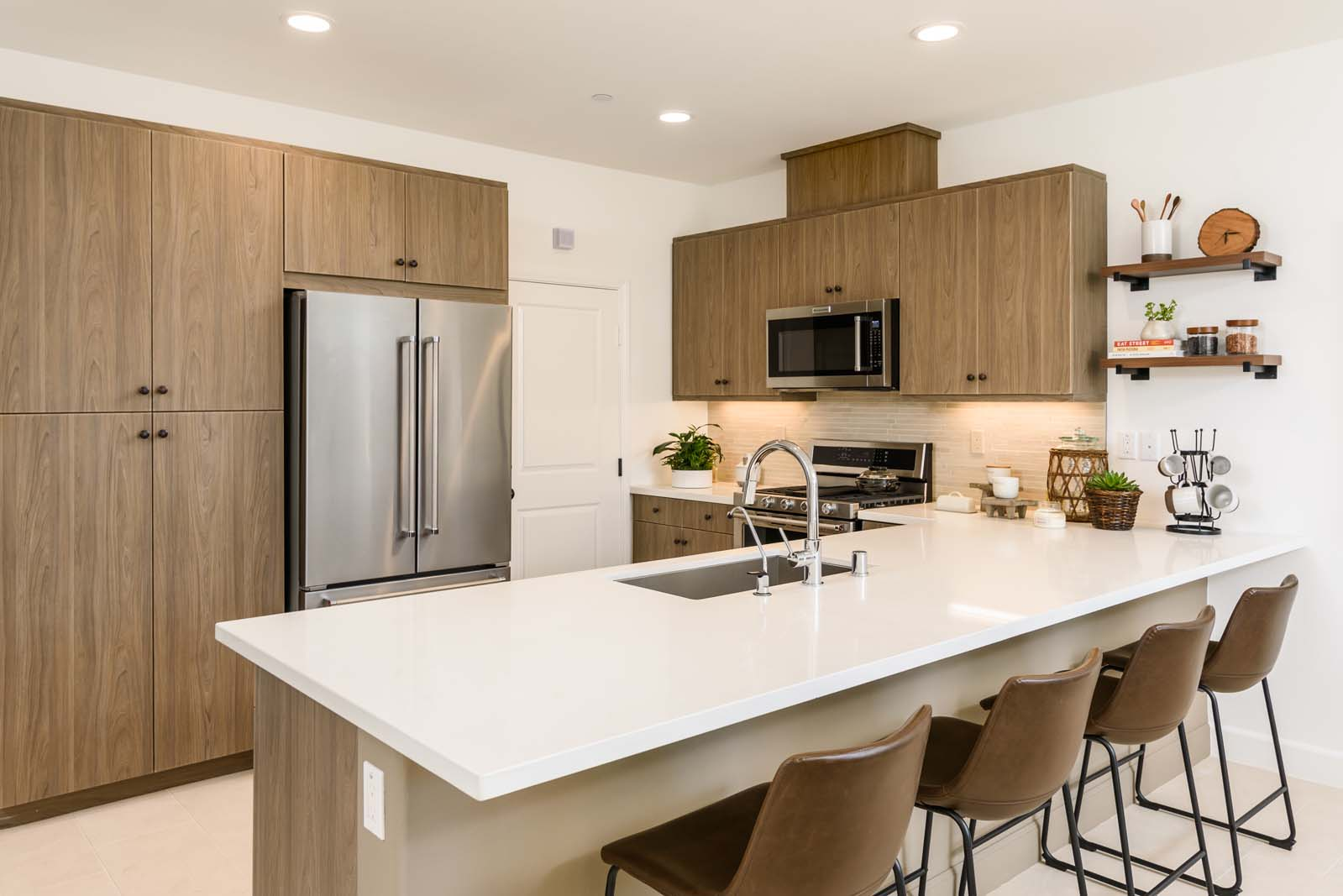 Modern San Diego Townhome Kitchen for Sale