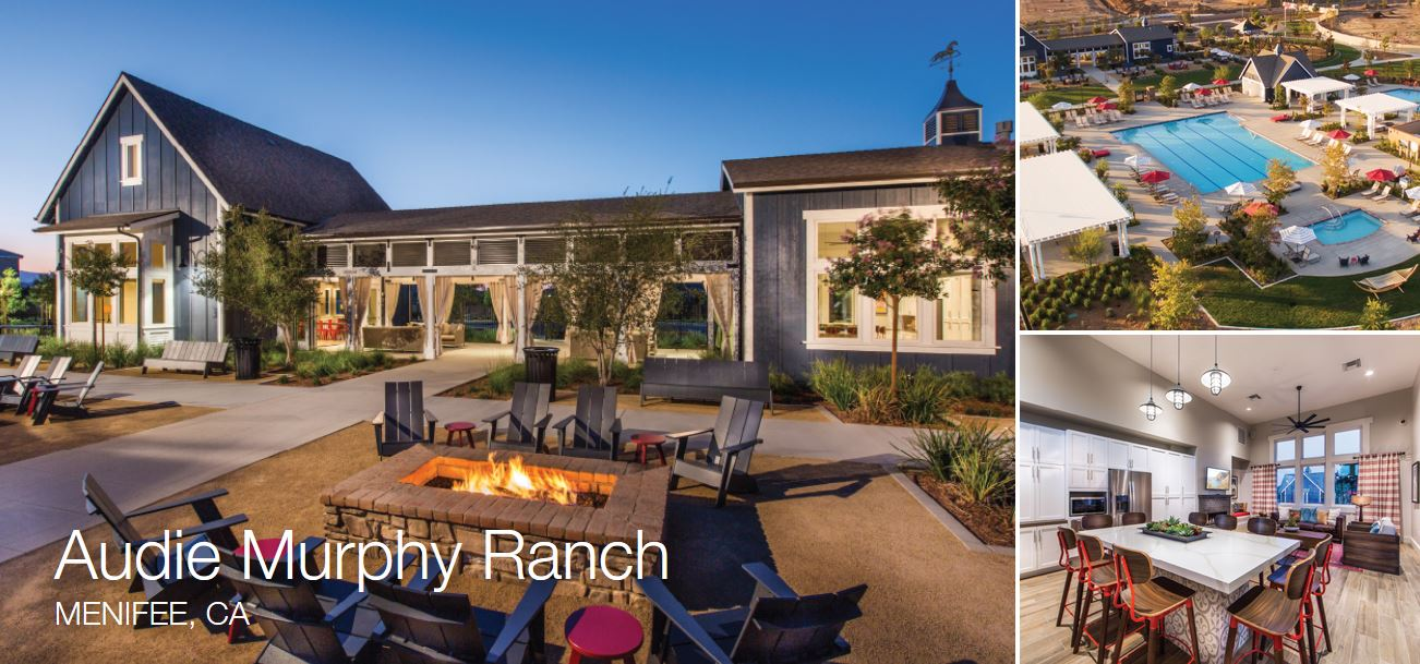 Audie Murphy Ranch Community in Menifee CA