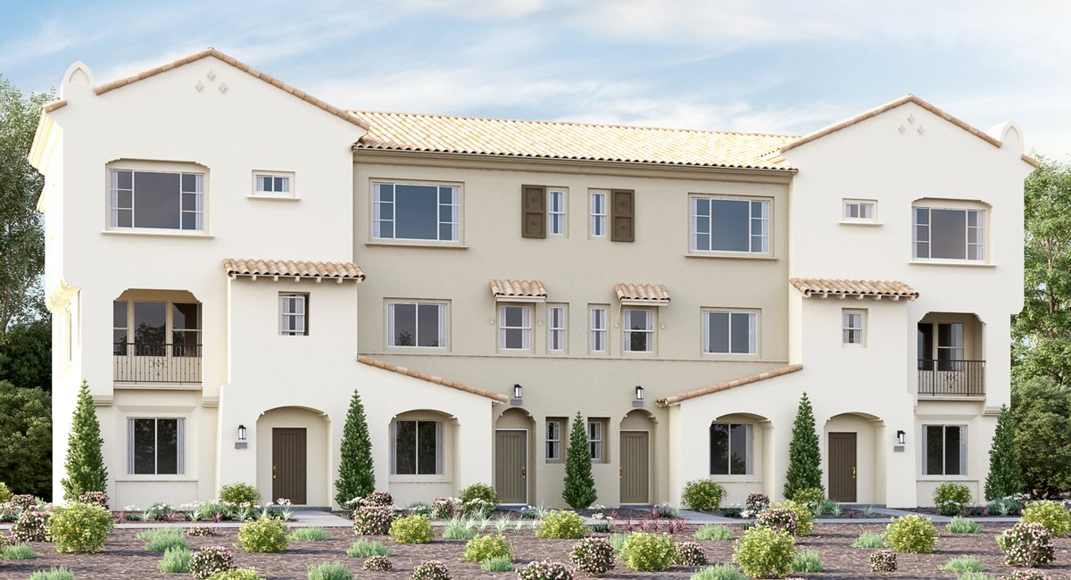 development of homes for sale at Avila in San Diego County