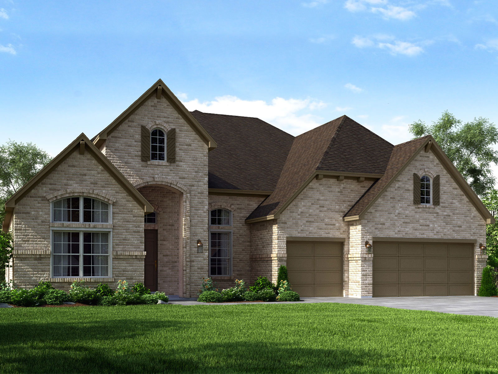 Houston new construction home at Riverstone