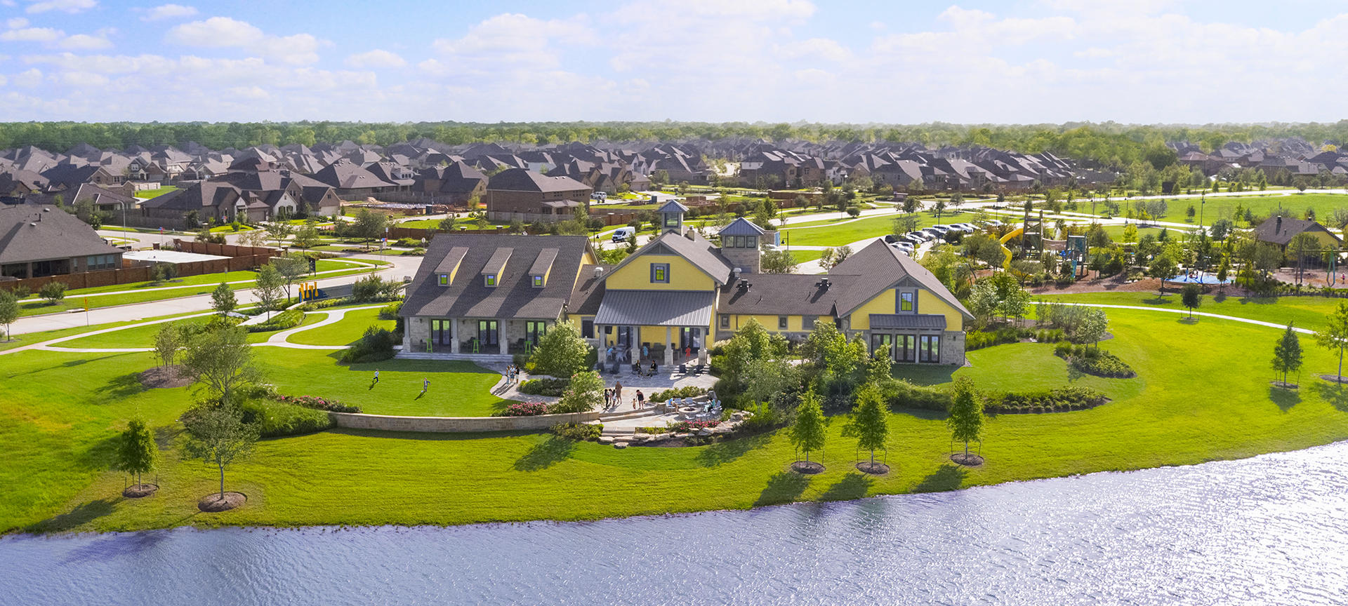 Sawmill Lake Club at new Houston development Sienna Plantation
