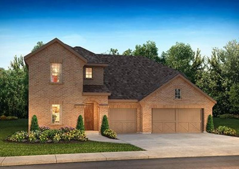 Shea Homes new home at Meridiana Community
