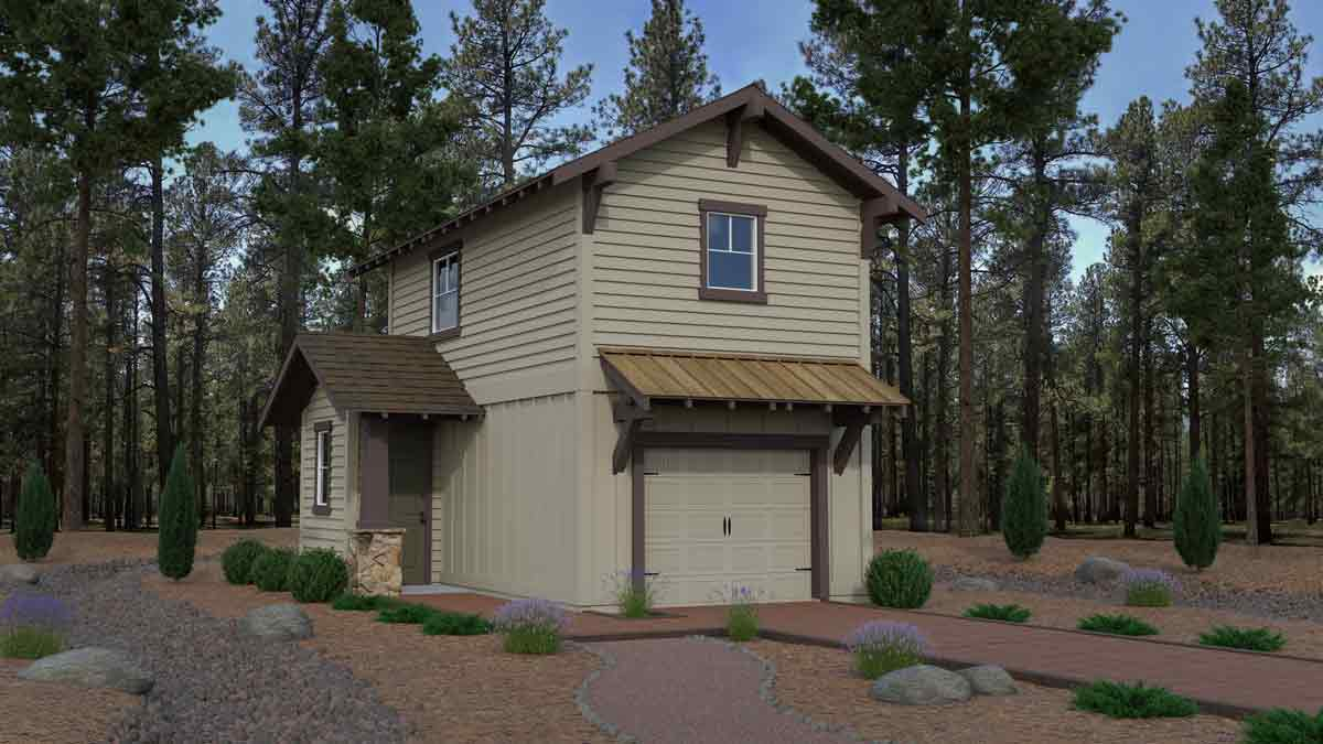 Crestview affordable new construction home in Flagstaff Arizona