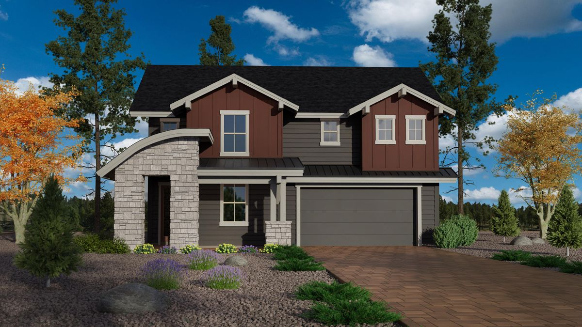 New Home at Orion at Timber Sky in Flagstaff Arizona