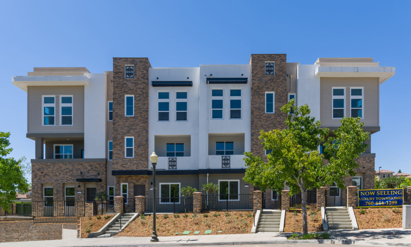 San Diego Townhomes at Prato by Hallmark Communities