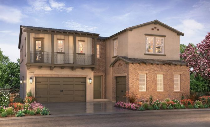 Shea Homes Parkside Estates in Orange County