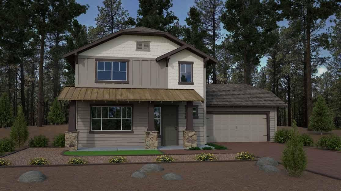 Capstone Homes New Home Community at Crestview in Northern Arizona