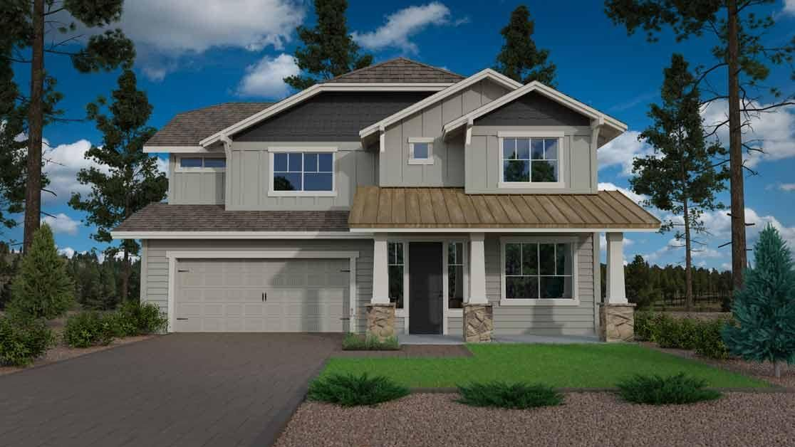 New construction home at Crestview in Flagstaff Arizona