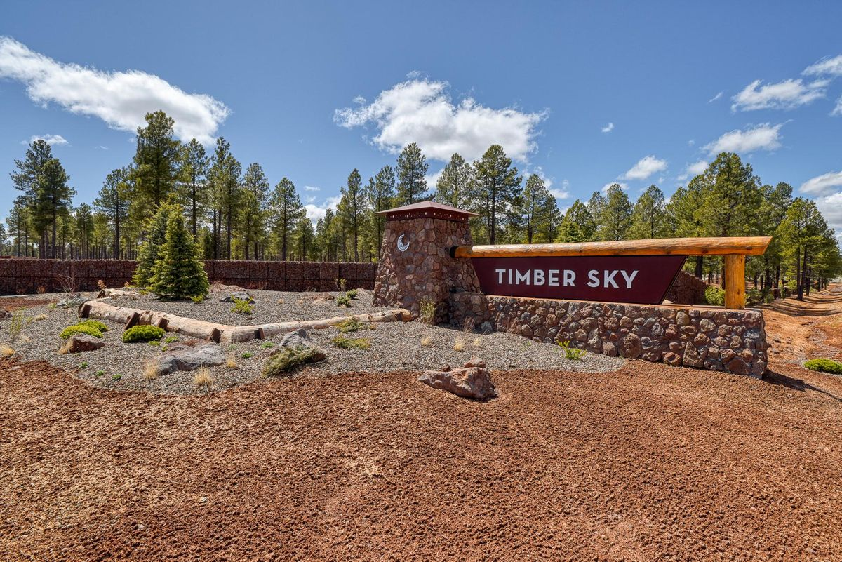 Orion at Timber Sky Entrance in Flagstaff Arizona